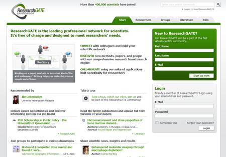 Benchmark, Accel und zahlreiche namhafte Business Angel investieren in ResearchGate
