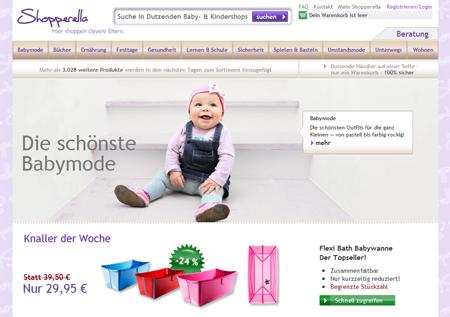 Shopperella sorgt für modische Baby-Outfits aller Art – netmoms unterstützt das Start-up