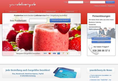 Finanzspritze für yourdelivery.de