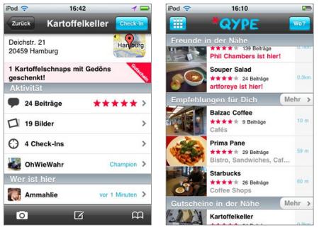 Qype checkt ein und begeistert die Szene – Personalisierte Empfehlungen als Killerapplikation
