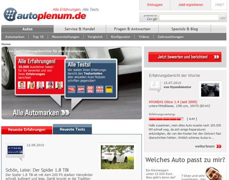 TV-Sendergruppe ProSiebenSat.1 schluckt Autoplenum.de