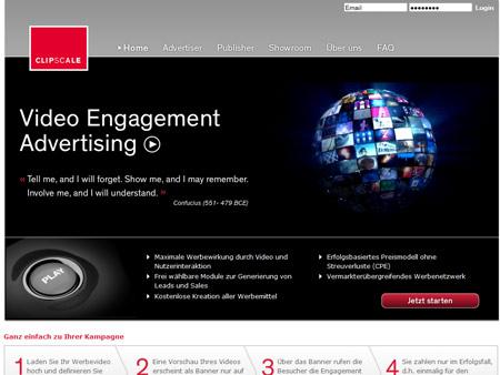 Bewegte Bilder: Clipscale verspricht Werbung ohne Streuverluste