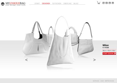 Am schönsten ist selbst entworfen: Bei MyUniqueBag kreieren Frauen ihre Traumtasche