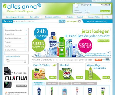 Shampoo, Body Lotion und mehr: AllesAnna verkauft Kosmetikartikel