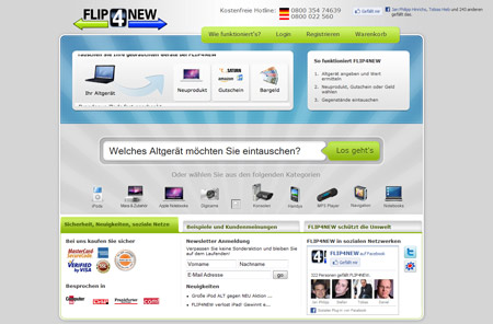 Paua Ventures und Lars Hinrichs investieren in Flip4new