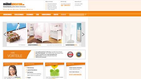 Möbel-Sensation.de liefert Einrichtungsgegenstände