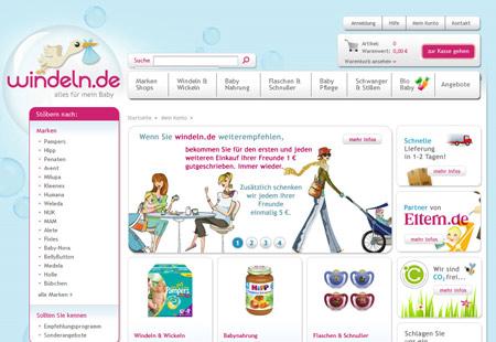 High-Tech Gründerfonds und DN Capital investieren in Windeln.de