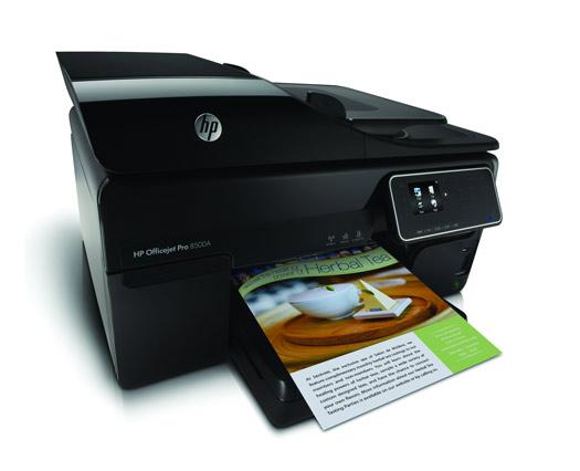 Internetfähiges Multitalent für Kleinunternehmen: der HP Officejet Pro 8500A eAiO (Anzeige)