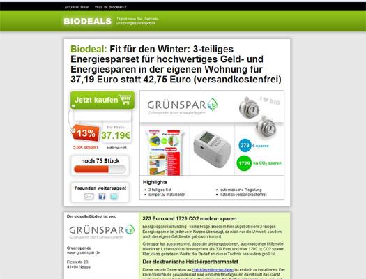 Teambon-Macher Gero Gode startet Biodeals.de – ein Groupon für Bio-Produkte
