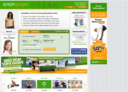 Mit Easysport den passenden Sportkurs finden – HRS-Gründer startet neuen Buchungsservice