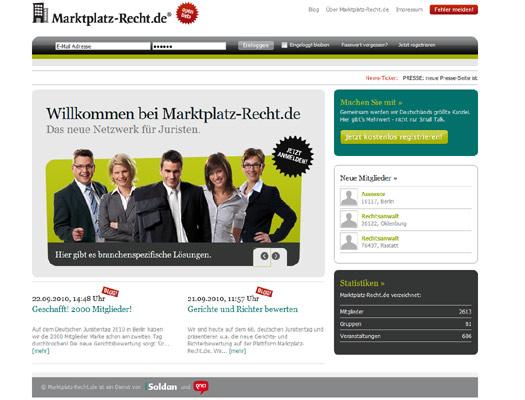 Heikles Thema: Marktplatz-Recht.de startet Richterbewertung