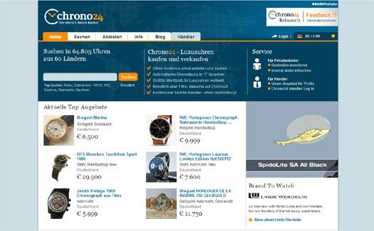 Luxusuhren-Marktplatz Chrono24 übernimmt WatchChoice