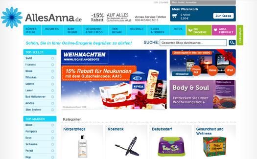 Online-Drogerie nimmt Fahrt auf: Finanzspritze für AllesAnna