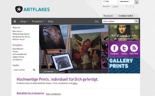 International statt national: Kunst-Galerie mygall wird zu Artflakes
