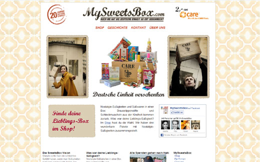 (N)ostalgie: MySweetsBox verschickt kulinarische Kindheitsträume