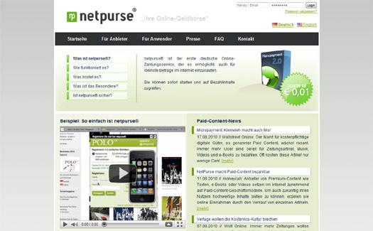 Boomthema Bezahlsysteme: NetPurse vereint Nano- und Handypayment