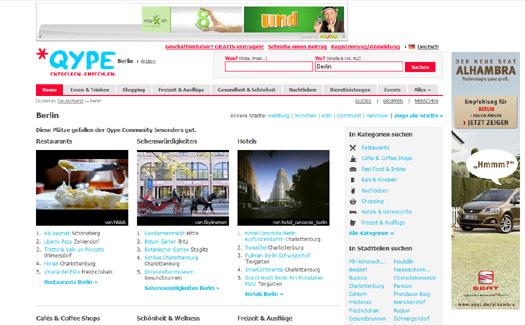 Vodafone steigt bei Qype ein – Bewertungsdienst sammelt 6,5 Millionen Euro ein