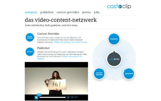 castaclip bringt Video-Macher und Publisher zusammen – Frühphasenfonds Brandenburg unterstützt das Start-up