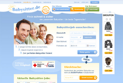 Expansion: blauarbeit.de übernimmt Babysitter.de