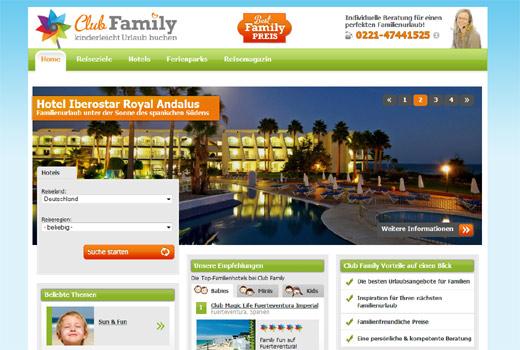 Familienurlaub: Club Family vermittelt familienfreundliche Hotels