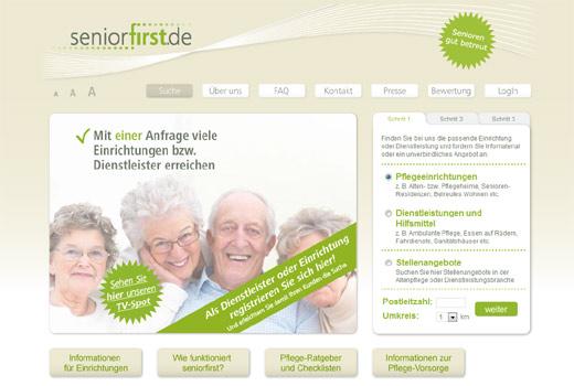 Mit seniorfirst.de finden Best Ager den passenden Alterswohnsitz