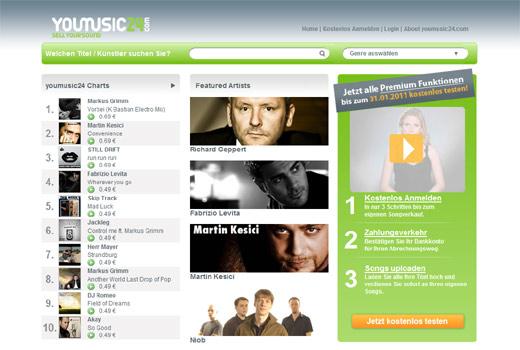 Offline! youmusic24.com singt und tanzt nicht mehr