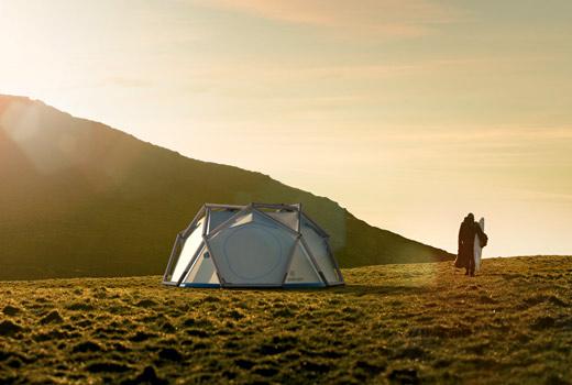 Gründerzeit. Aus einem Zelt-Alptraum wird bornintents – und aus bornintents wird Heimplanet