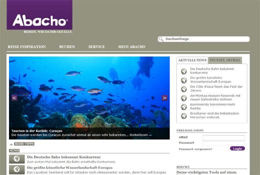 Reise, Reise: Econa küsst Internet-Urgestein Abacho wach