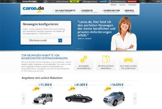 pkw.de, caroo.de, autotest.de – Caroo Group steht jetzt auf drei Säulen