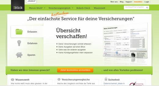 Der Online-Finanzdienstleister 1blick ermittelt den Versicherungsbedarf