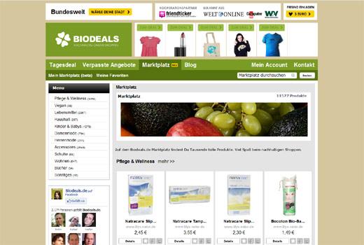 Marktplatz für nachhaltige Produkte: Biodeals.de greift Avocado Store an