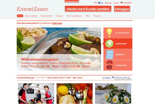 Familien-Kochservice: Mit KommtEssen herrscht Frieden am Essenstisch