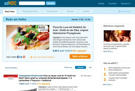 Seriengründer Marco Börries startet Groupon-Konkurrenten adHoc