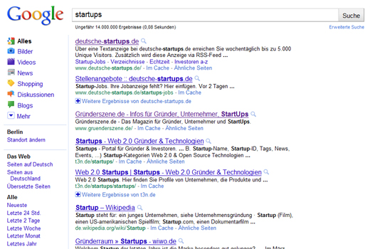 Google Universal Search Rankingfaktoren – Gastbeitrag von Markus Bauer