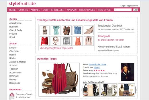 Geld für stylefruits: Vorwerk Ventures investiert in die Modeplattform