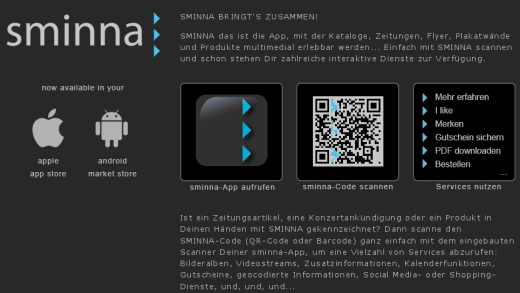 QR-Code Erkennung: Sminna macht Plakate multimedial erlebbar