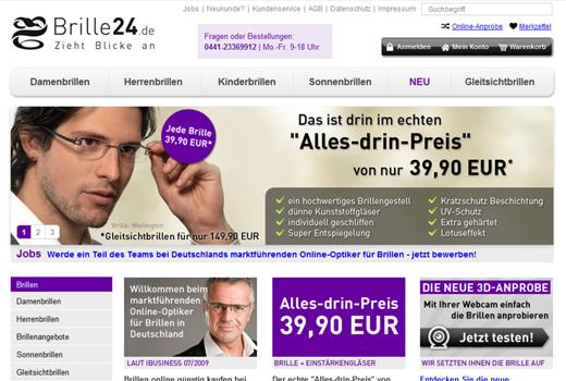 b-to-v steigt bei Brille24.de ein