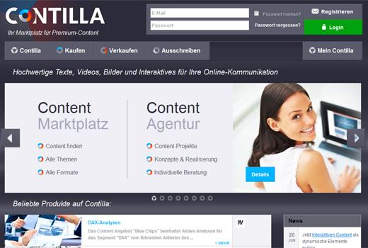 Contilla holt sich frisches Kapital – DuMont Venture, die Verlagsgruppe Ebner und die KfW investieren in den Content-Marktplatz