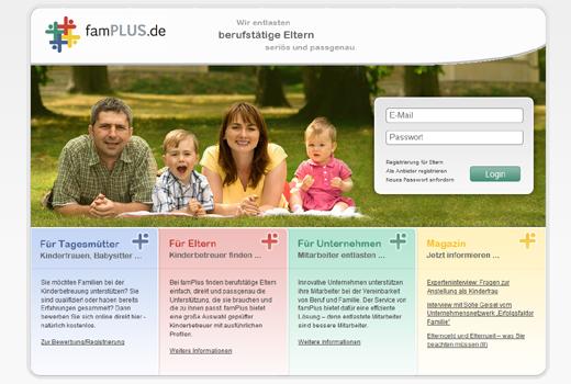 famPlus bietet Firmenlösungen rund um Kinderbetreuung – HTGF und Bayern Kapital unterstützen das Start-up
