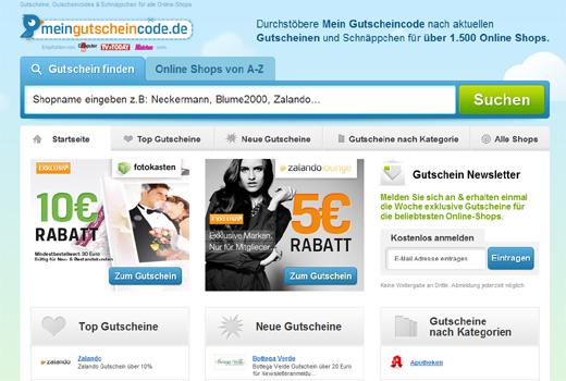 Springer-Tochter idealo steigt bei MeinGutscheincode.de ein