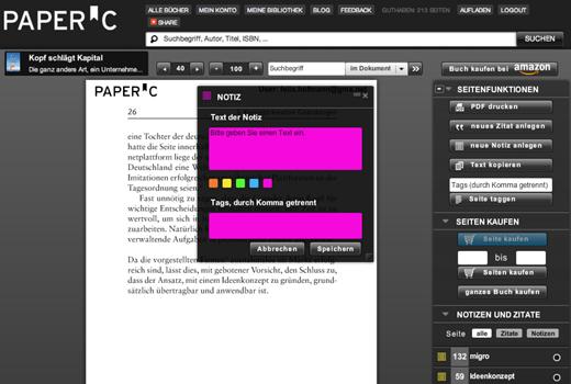 Axel Schmiegelow investiert in Fachbuchplattform PaperC
