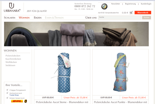 Finanzspritze für Urbanara – Online-Shop sammelt siebenstellige Summe ein
