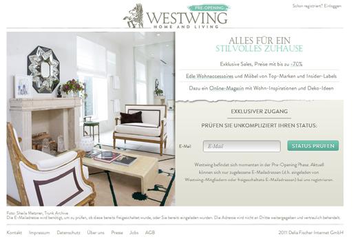 Mit Westwing startet bald ein Shoppingclub für Wohnaccessoires und Möbel – Holtzbrinck Ventures unterstützt das Start-up