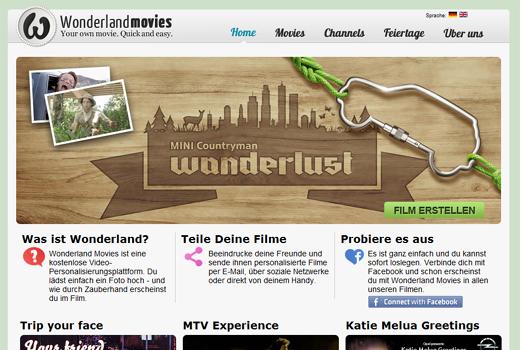 Foto hochladen und posten: Mit Wonderlandmovies kreieren Unternehmen personalisierbare Videos