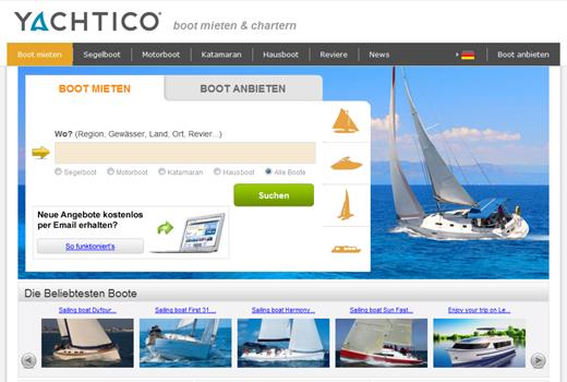 Yachtico sammelt Kapital ein
