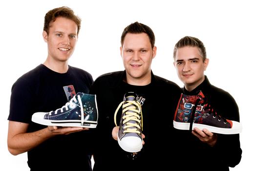 Scurdy bedruckt Sneaker – Nach über zwei Jahren Vorlaufzeit startet das Mass Customization-Start-up endlich