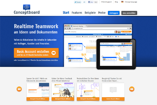 SaaS-Start-up Conceptboard sammelt Kapital ein