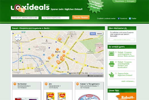 Bei dm und Aldi sparen: Loxideals bündelt Drogerie- und Supermarktangebote