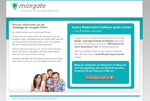 Start-up-Radar: maxgate