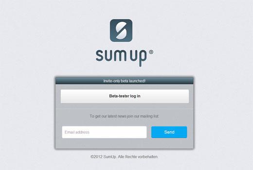 SumUp – nach Zenpay der nächste Square-Klon aus Berlin